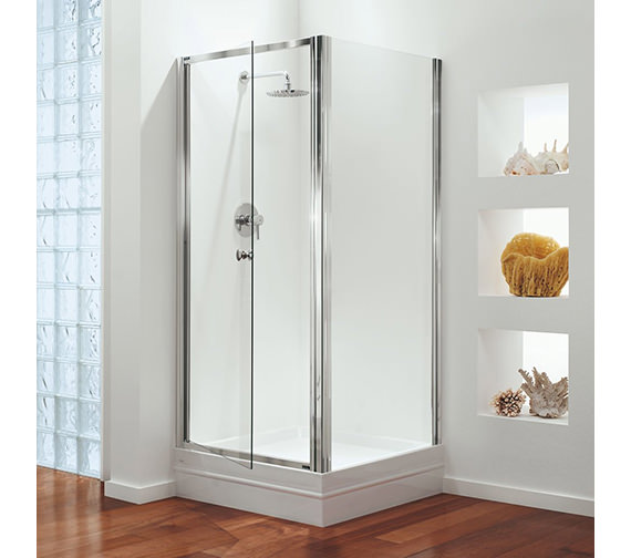 Croydex Universal Shower Door Seal Kit 1000mm Long - AM160532