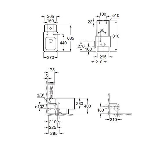 Technical drawing QS-V55481 / 342577000
