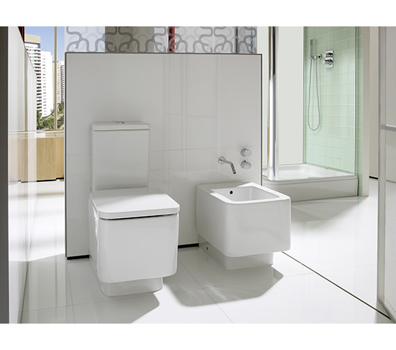 Additional image of Roca Element Close Coupled WC Set 685mm - 342577000