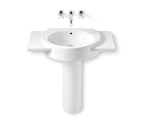 Additional image of Roca Happening Wall Hung Basin With Wings 700 x 430mm - 327564000