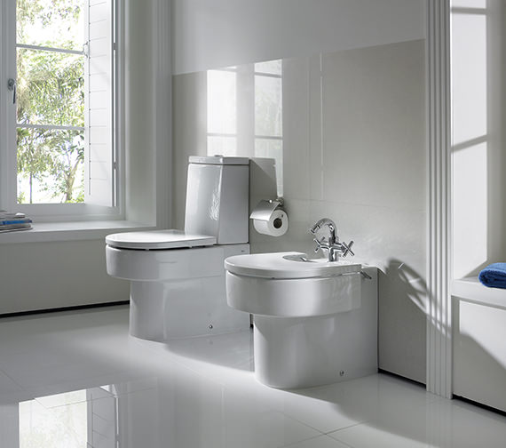 Additional image of Roca Happening WC Pan With Cistern And Soft Close Seat - 342567000