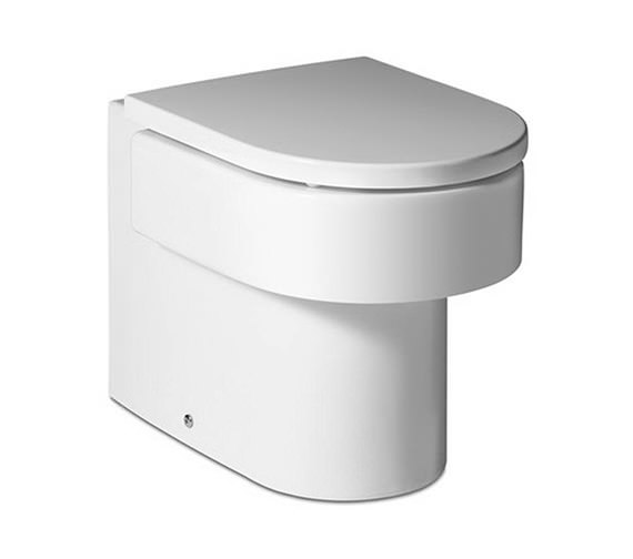 Roca Happening Back-To-Wall WC Pan With Soft Close Seat - 347567000