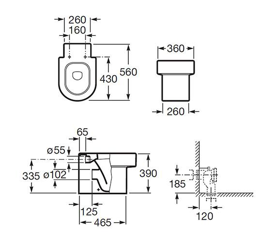 Technical drawing QS-V55494 / 347567000