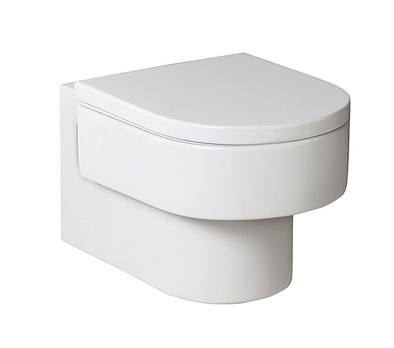 Roca Happening Wall Mounted WC Pan With Soft Close Seat - 346567000