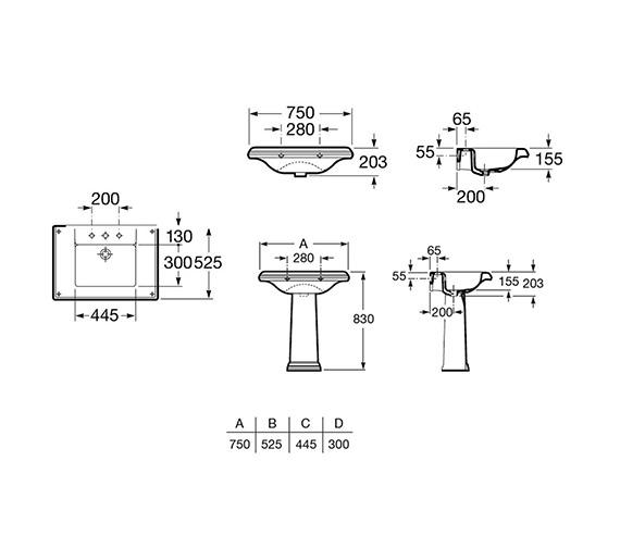 Technical drawing QS-V55498 / 327490000
