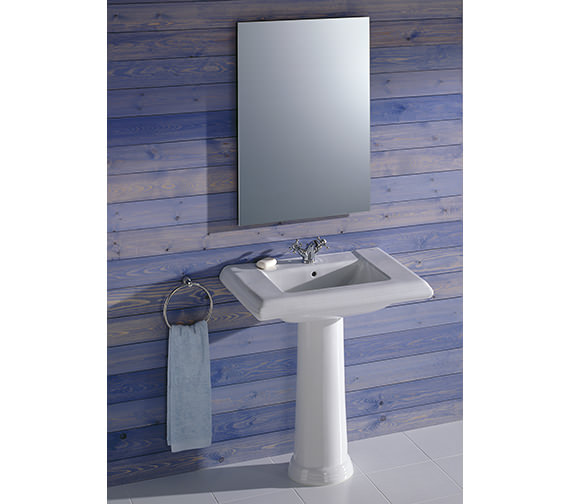 Additional image of Roca New Classical Vanity Basin 750 x 525mm - 327490000