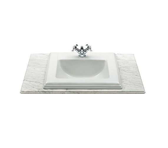 Roca New Classical In Countertop Basin 580 x 475mm - 327495000