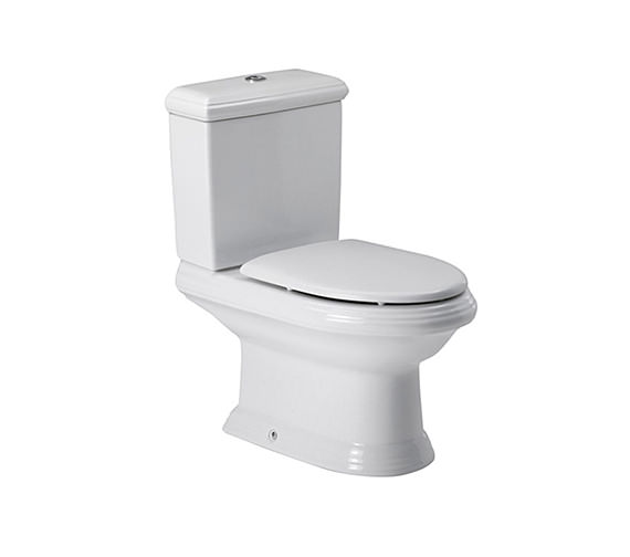 Roca New Classical Close-Coupled WC Pan With Cistern 705mm - 342497000