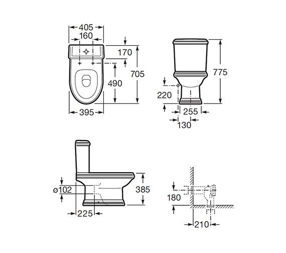 Technical drawing QS-V55501 / 342497000