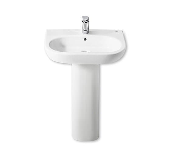 Additional image of Roca Meridian-N Wall Hung Basin 550mm Wide - 327243000