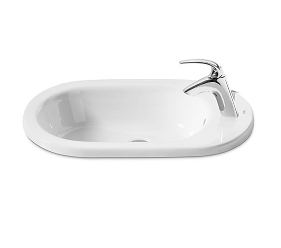 Roca Meridian-N In Counter Top Basin 600mm Wide - 32724E000