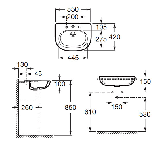 Technical drawing QS-V55525 / 32724S000