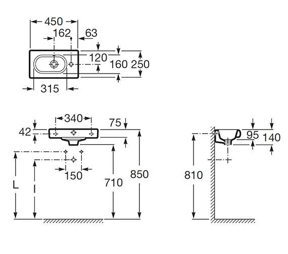 Technical drawing QS-V55534 / 327248000