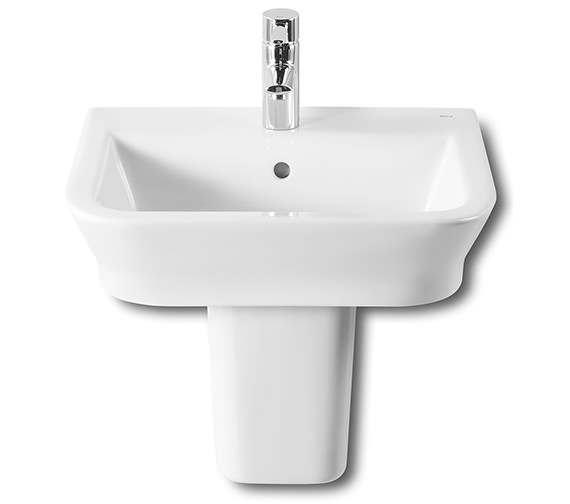 Roca The Gap Contemporary White Basin