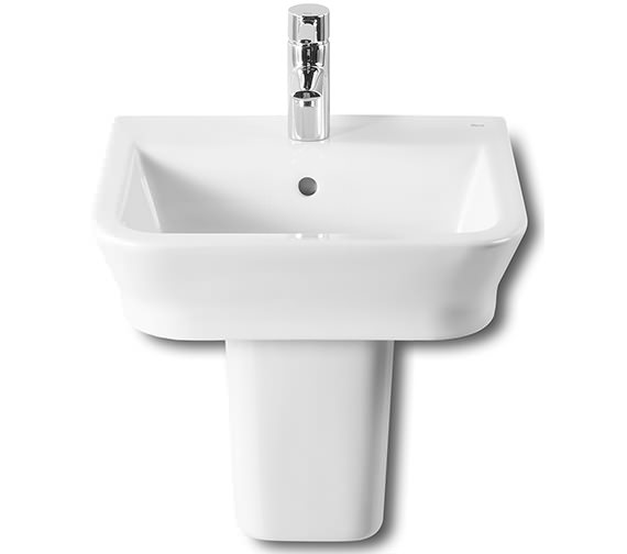 Roca The Gap White Basin 450mm Wide - 327477000