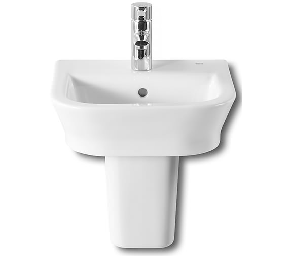 Roca The Gap Cloakroom Basin With Semi-Pedestal - 327478000