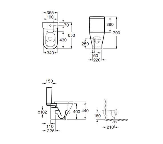 Technical drawing QS-V55558 / 342477000