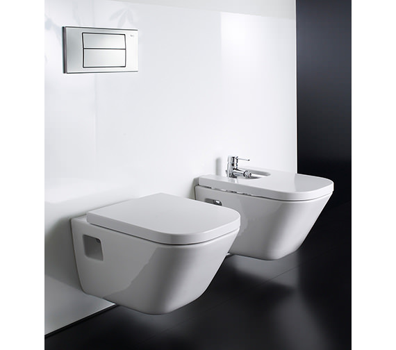 Roca The Gap Wall Hung WC Pan 540mm - 346477000