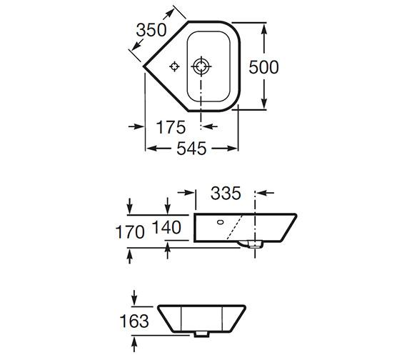 Technical drawing QS-V55567 / 327646000