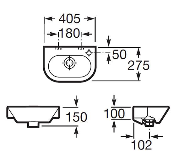 Technical drawing QS-V55569 / 327645000