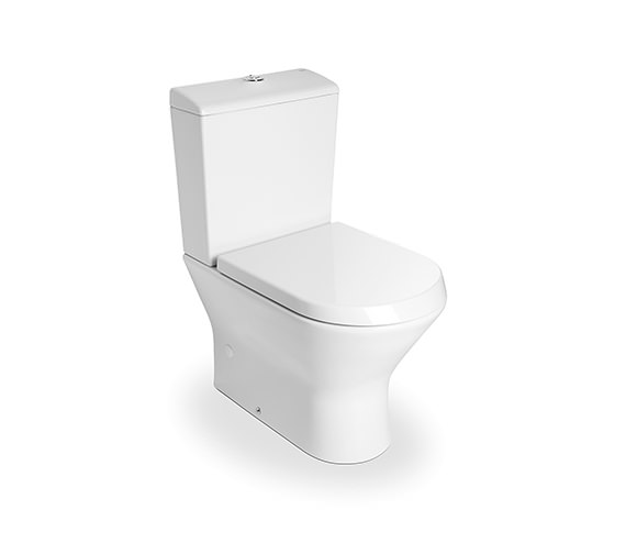 Roca Nexo White Close Coupled WC Pan 665mm - 342640000