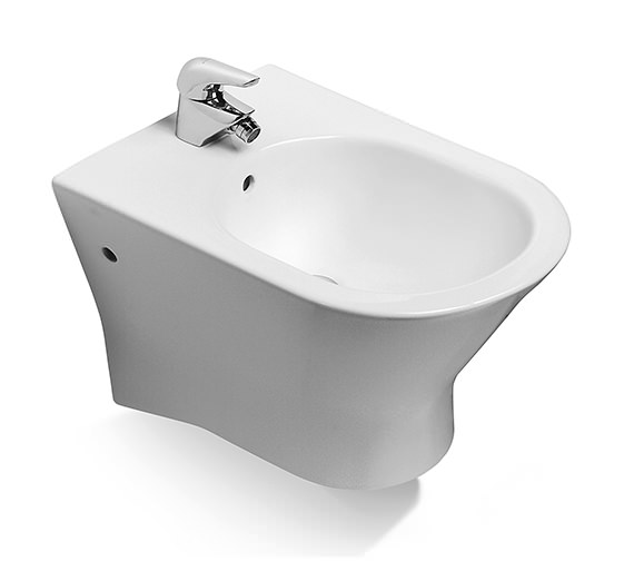 Roca Nexo Wall Hung Over-Rim Bidet 525mm - 357645000