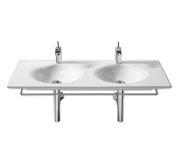 Image 4 of Roca Kalahari Double Vanity Basin 1200mm x 510mm - 327896000