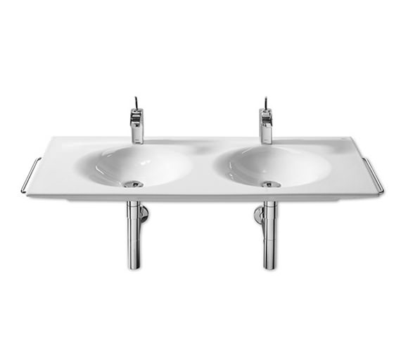 Image 5 of Roca Kalahari Double Vanity Basin 1200mm x 510mm - 327896000