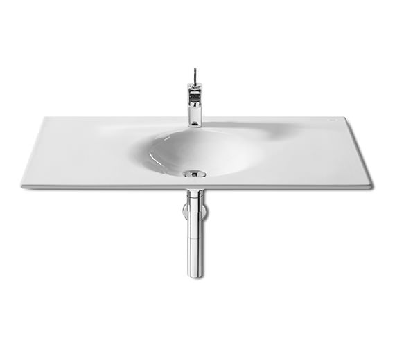 Alternate image of Roca Kalahari 650 x 450mm Wall Hung Or Vanity Basin - No Taphole
