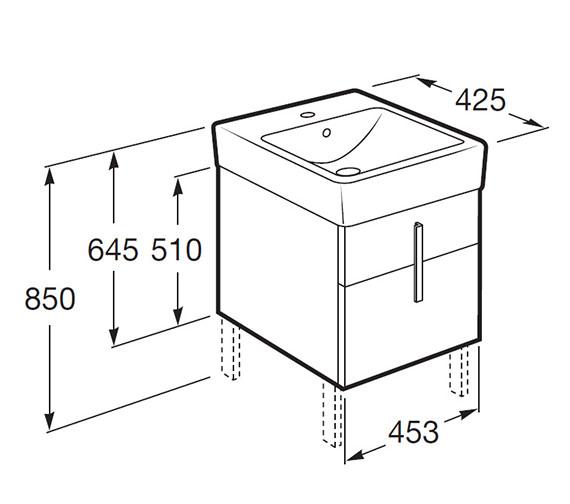 Technical drawing QS-V55660 / 856460006