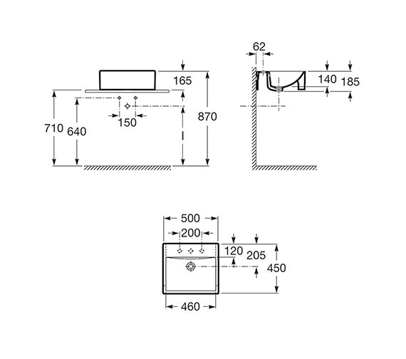 Technical drawing QS-V55667 / 32711S000