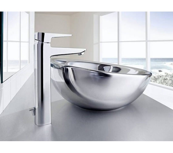 Additional image of Roca Bol Argenta On Countertop Basin 420mm Dia - 327876570
