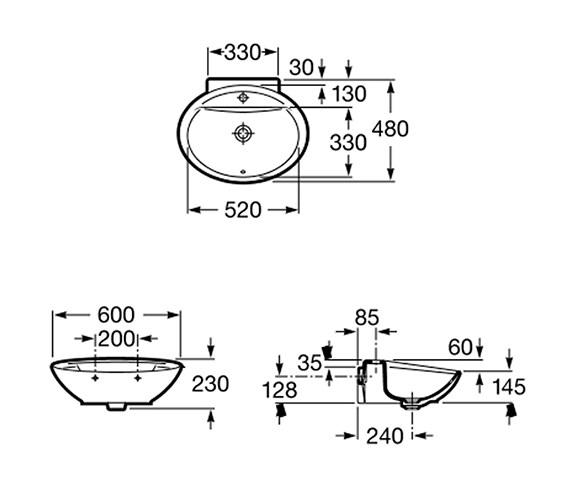 Technical drawing QS-V55679 / 327877000