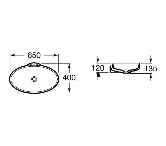 Technical drawing QS-V55706 / 327229000