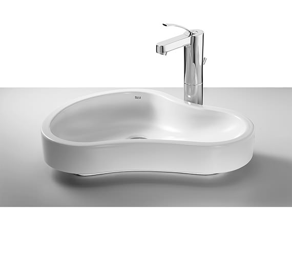 Roca Urbi 8 On Countertop Basin 550mm Wide - 32722A000