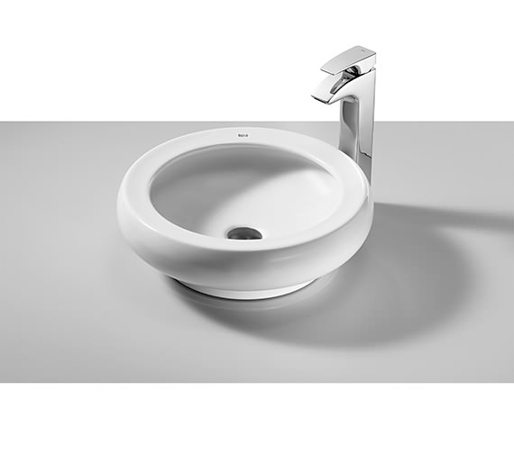Roca Art Over Countertop Basin 420mm Dia - 327220000