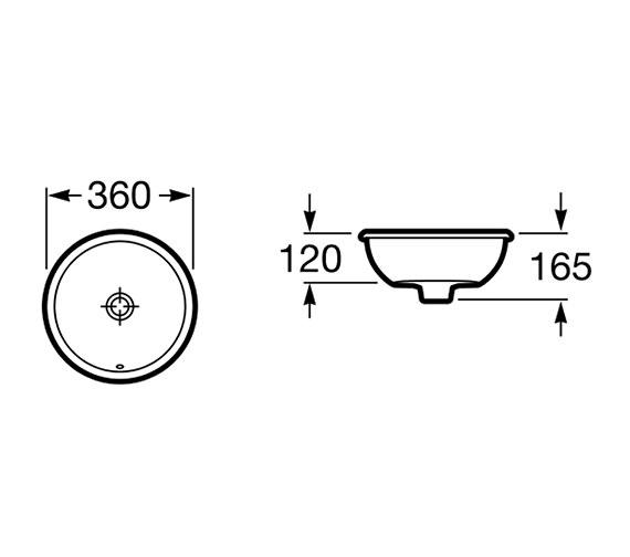Technical drawing QS-V55718 / 327880000
