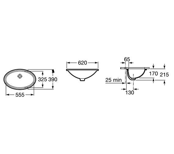 Technical drawing QS-V55722 / 327899000