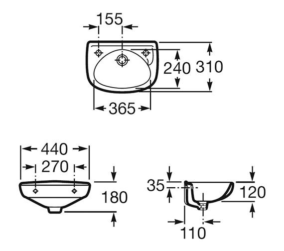 Technical drawing QS-V55726 / 320841001