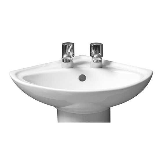 Roca Madrid White Corner Basin - 475110000
