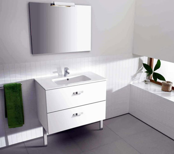 Roca Victoria Unik 800mm Base Unit With Basin And Mirror Set - 855748806