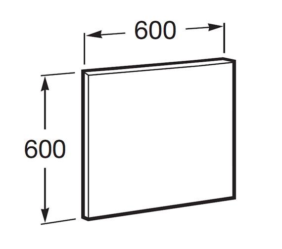 Technical drawing QS-V55752 / 812228806