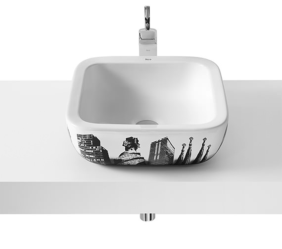 Roca Urban Berlin Countertop Basin 400mm x 400mm - 32765G00U