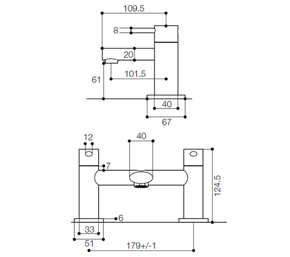 Technical drawing QS-V55802 / IYE005