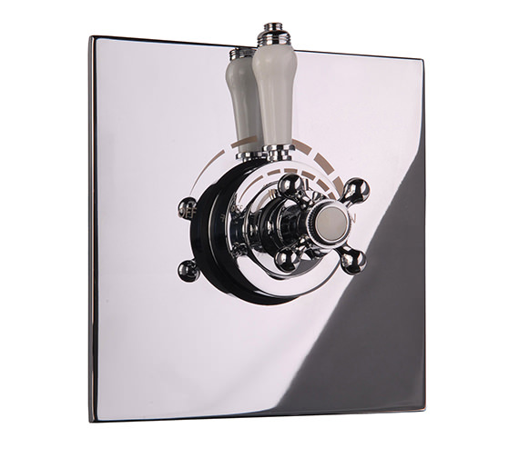 Mayfair Traditional Crosshead Thermostatic Shower Valve - TRA220 Image