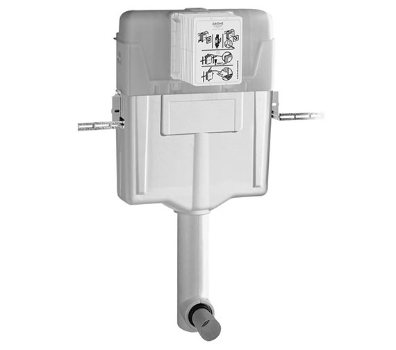 Grohe GD2 WC Concealed Cistern 6-3 Litre - 38661000