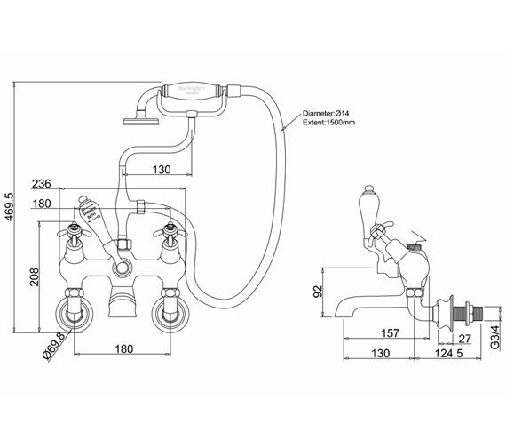 Technical drawing QS-V55917 / ANR21