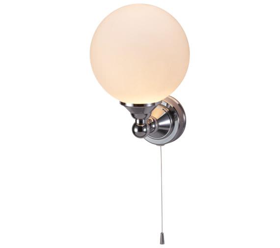 Burlington Edwardian Single Round Light With Pull Cord - T50