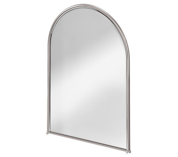 Burlington Arched Mirror With Chrome Frame - A9 CHR