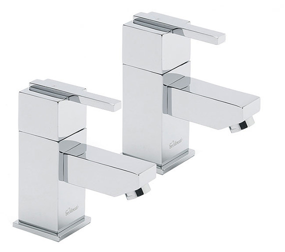 Tre Mercati Vespa Pair Of Basin Tap Chrome - 45010